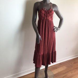 🍓Topshop sleeveless maxi dress